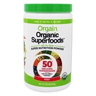 Prodotti Superfoods All-In-One biologici Super Nutrition Powder Berry - 0.62 lbs. by Orgain