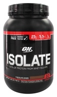 Optimum Nutrition - Isolate Chocolate Shake - 1.65 lb.
