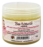 Bee Natural - 100% Pure Natural Baby Bum and Nappy Rash Cream - 5.9 oz.