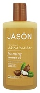 JASON Natural Products - Foaming Shower Oil Nourishing Shea Butter - 10 oz.