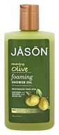 JASON Natural Products - Foaming Shower Oil Renewing Oilve - 10 oz.