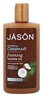JASON Natural Products - Foaming Shower Oil Smoothing Coconut - 10 oz.