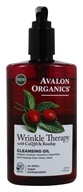 Avalon Organics - Wrinkle Therapy Cleansing Oil with CoQ10 & Rosehip - 8 oz.