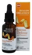 Avalon Organics - Intense Defense with Vitamin C Antioxidant Oil - 1 oz.