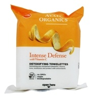 Avalon Organics - Intense Defense with Vitamin C Detoxifying Towelettes - 30 Towelette(s)