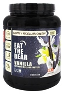 Eat The Bear - Grizzly Micellar Casein Extended Release Protein Vanilla - 1.6 lbs.