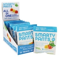 SmartyPants - All-In-One Multivitamin Adult Complete Gummies - 15 Pack(s)