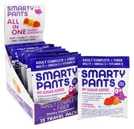 SmartyPants - All-In-One Multivitamin Adult Complete + Fiber Gummies - 15 Pack(s)