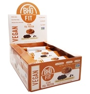 Bhu Fit - Vegan Protein Bar Peanut Butter + Chocolate Chip - 12 Bars