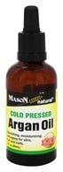 Mason Natural - Cold Pressed Argan Oil - 2 oz.