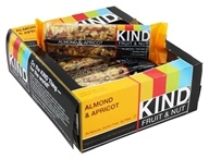 Kind Bar - Fruit & Nut Bars Box Almond & Apricot - 12 Bars