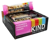 Kind Bar - Fruit & Nut Bars Box Almond & Apricot In Yogurt - 12 Bars