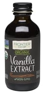 Frontier Natural Products - Organic Vanilla Extract - 2 fl. oz.