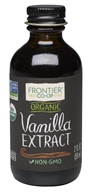 Frontier Natural Products - Organic Vanilla Extract - 2 oz.
