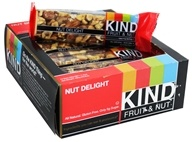 Kind Bar - Fruit & Nut Bars Box Nut Delight - 12 Bars