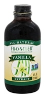 Frontier Natural Products - All Natural Vanilla Extract - 4 oz.
