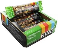 Kind Bar - Plus Nutrition Bars Box Almond & Cashew with Flax + Omega 3 - 12 Bars