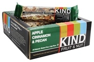Kind Bar - Fruit & Nut Bars Box Apple Cinnamon & Pecan - 12 Bars