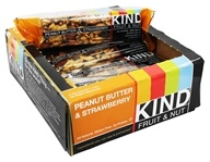 Kind Bar - Fruit & Nut Bars Box Peanut Butter & Strawberry - 12 Bars