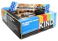 Kind Bar - Plus Fiber Nutrition Bars Box Blueberry Pecan - 12 Bars