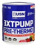 USN Supplements - Core Series 3XT Pump Pre-Thermo Fruit Punch - 6.9 oz.