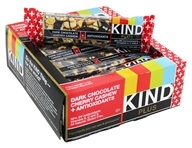 Kind Bar - Plus Antioxidant Nutrition Bars Box Dark Chocolate Cherry Cashew - 12 Bars