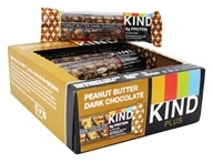 Kind Bar - Plus Protein Nutrition Bars Box Peanut Butter Dark Chocolate - 12 Bars