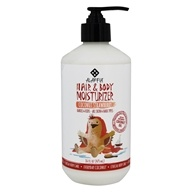 Alaffia - Everyday Coconut Hair and Body Lotion for Babies Coconut Strawberry - 16 oz.