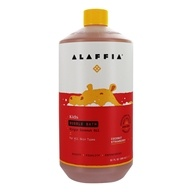 Alaffia - Everyday Coconut Bubble Bath for Babies Coconut Strawberry - 32 oz.