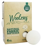 Woolzies - Natural Fabric Softener Dryer Balls - 6 Pack Formerly Dream Dry Fabric Softener
