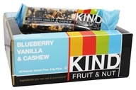 Kind Bar - Fruit & Nut Bars Box Blueberry Vanilla & Cashew - 12 Bars
