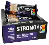 Kind Bar - Strong & Kind Almond Protein Bars Box Thai Sweet Chili - 12 Bars