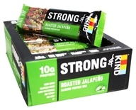 Kind Bar - Strong & Kind Almond Protein Bars Box Roasted Jalapeno - 12 Bars