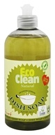 Eco Clean - Natural Dish Soap Spanish Lemon - 16.9 oz.