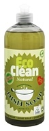 Eco Clean - Natural Dish Soap Spanish Lemon - 25.3 oz.