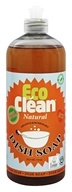 Eco Clean - Natural Dish Soap Orange and Rosemary - 25.3 oz.