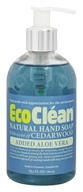 Eco Clean - Natural Hand Soap with Added Aloe Vera Cedarwood - 10.1 oz.