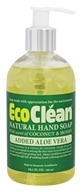 Eco Clean - Natural Hand Soap with Added Aloe Vera Coconut and Honey - 10.1 oz.