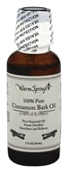 Warm Springs - 100% Pure Cinnamon Bark Oil - 1 oz.