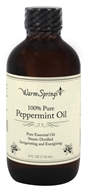 Warm Springs - 100% Pure Peppermint Oil - 4 oz.