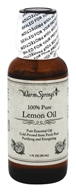 Warm Springs - 100% Pure Lemon Oil - 1 oz.
