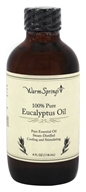Warm Springs - 100% Pure Eucalyptus Oil - 4 oz.