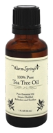 Warm Springs - 100% Pure Tea Tree Oil - 1 oz.