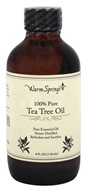 Warm Springs - 100% Pure Tea Tree Oil - 4 oz.