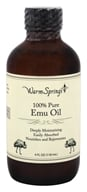 Warm Springs - 100% Pure Emu Oil - 4 oz.