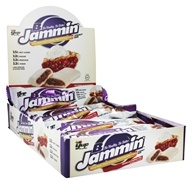 B-Up - B-Jammin' Energy Bars Box Vanilla Cherry Pie - 10 Bars