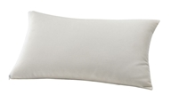 Greenbuds - Organic Cotton Toddler Pillow with Wool Fill 12 in. x 20 in.