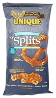 Unique - All Natural Pretzel Splits Unsalted - 11 oz.
