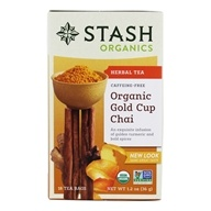 Stash Tea - Organic Gold Cup Chia Tea - 18 Tea Bags ...
