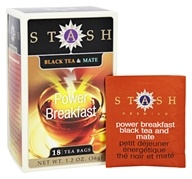 Stash Tea - Premium Power Breakfast Tea - 18 Tea Bags